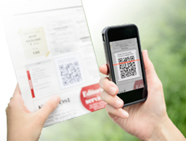 QR Code with Smartphone