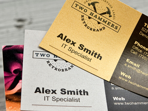 Business Card - Paper Variety